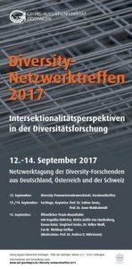 Plakat des DiversityNetzwerktreffens 2017