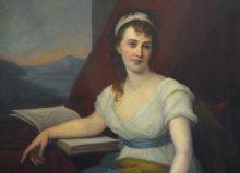 Dorothea Schlözer (1770 bis 1825), Gemälde von Benita Seeburger See (?), Foto: Frank Stefan Kimmel (März 2009)